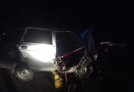 ДТП вКрыму: натрассе Симферополь-Бахчисарай столкнулись два ВАЗа
