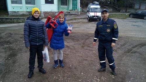 Сергей Шахов: в преддверии новогодних праздников крымские спасатели осуществляют патрулирование горно-лесной зоны