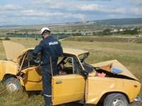 Крымские спасатели три раза оказали помощь пострадавшим в ДТП