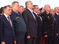 В Крыму прошло торжественное собрание в честь Дня спасателя РФ