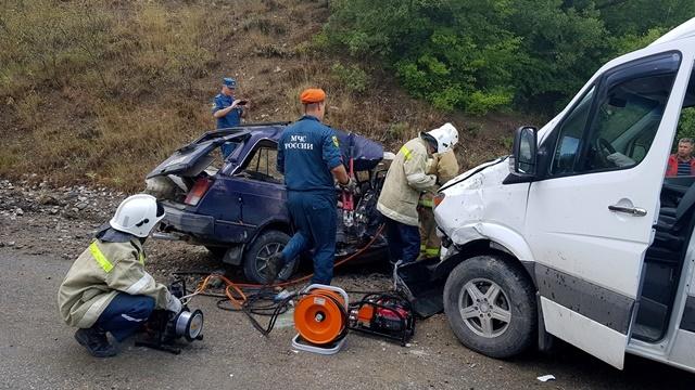 Смертельное ДТП на трассе Алушта-Судак-Феодосия. Погибла женщина