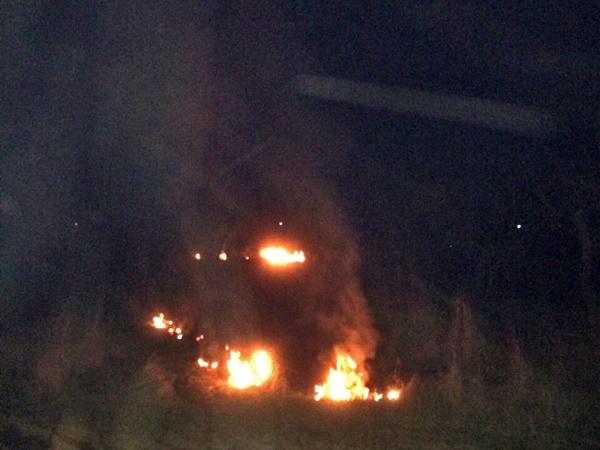 Каждый день - пожары. В Крыму горят гектары сухой травы